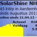 Opbrengst zonnepanelen, live data van klanten bekijken